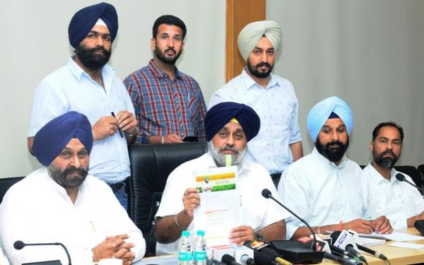 Congress failed Punjabis, six month rule a saga of blatant lies and betrayal: Sukhbir Badal