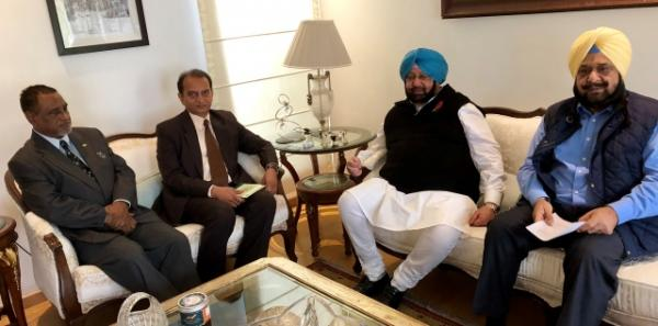 Amarinder reviews progress on Patiala Sports University