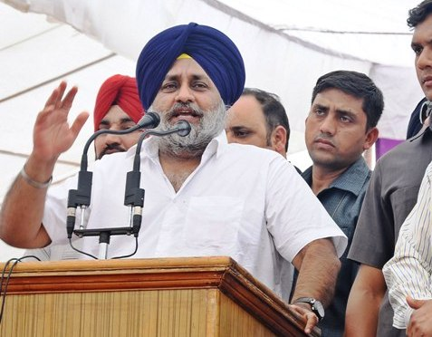 Cong has gone back on its loan waiver promise to farmers: Sukhbir Badal