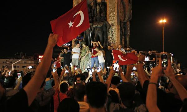 Over 200 Killed In Turkey's failed Coup Attempt; Erdogan returns