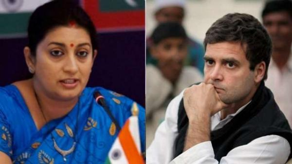 Smriti Irani on RaGa's speech: A failed dynast talked about his failed political journey