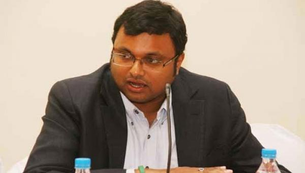 Feel like I am part of a 007 movie: Karti Chidambaram takes swipe at CBI