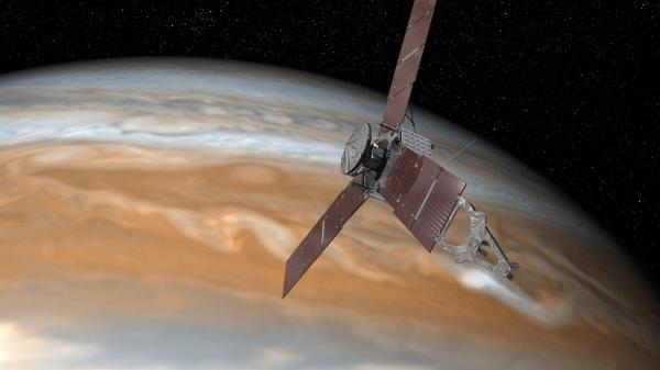 Juno probe: Nasa's spacecraft makes history by entering Jupiter's orbit after five-year journey