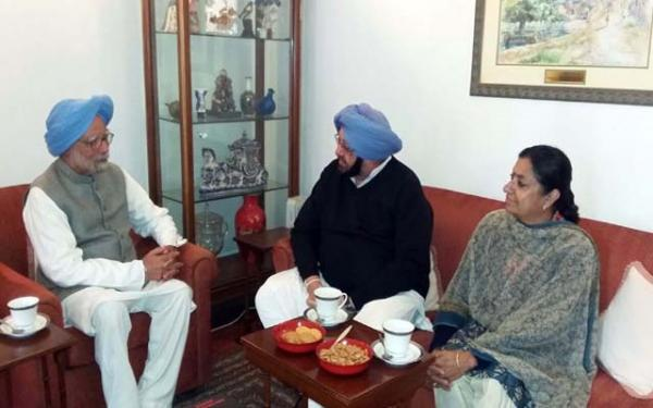RaGa, MMS among host of senior Congress leaders likely to attend Capt's swearing-in