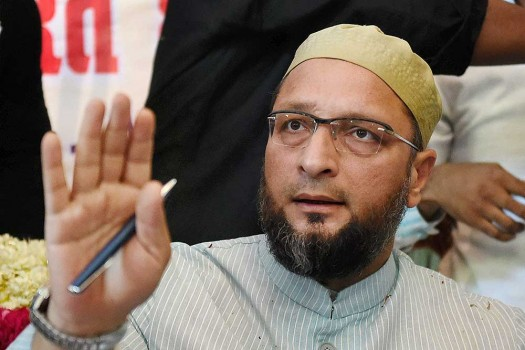 Owaisi slams 'BJP's hypocrisy'; Cow is 'mummy' in UP, but 'yummy' in Northeast