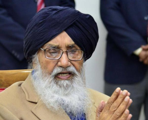 Shoe hurled at Badal ​in​ Lambi; CM claims its handiwork of political rivals