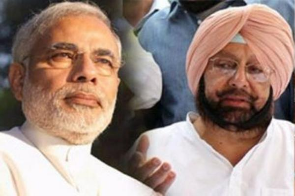 Amarinder slams Modi for discriminating against Punjab