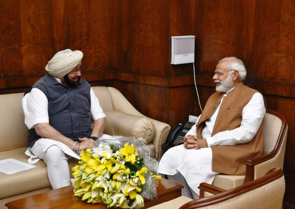 Amarinder asks PM Modi for Special One-time Farm Loan Waiver Package