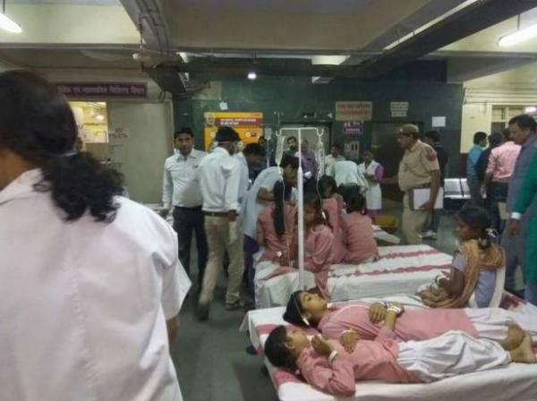 Over 200 students hospitalised after gas leak near Delhi school