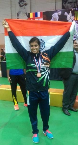 Patiala girl wins bronze in Thailand