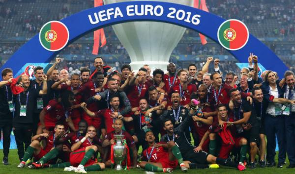 Portugal beat hosts France to clinch their first EURO Cup