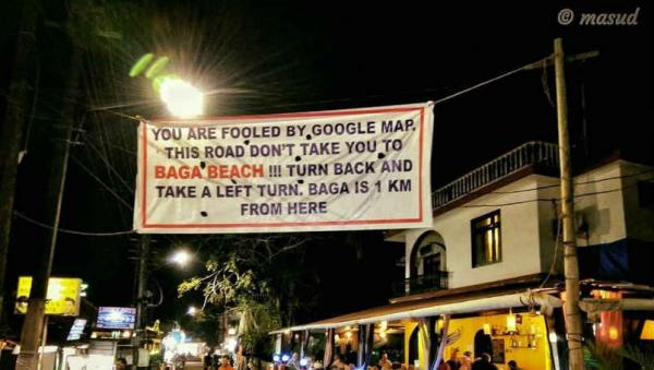 Using Google Maps for directions? It can be misleading at times