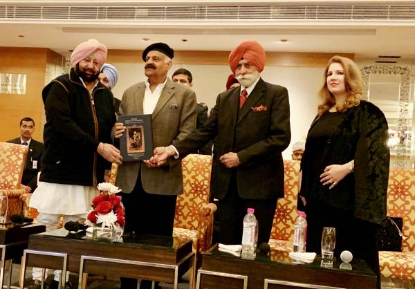 Amarinder launches book 'Prince, Patron and Patriarch Maharaja Jagatjit Singh of Kapurthala'