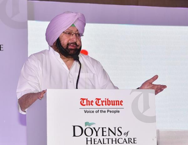 Amarinder calls for collective efforts to promote healthcare, education in state