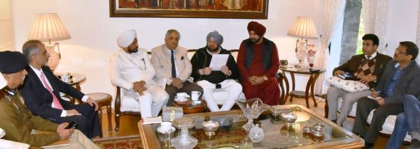 CM reviews arrangements for Guru Gobind Singh's Parkash utsav celebrations