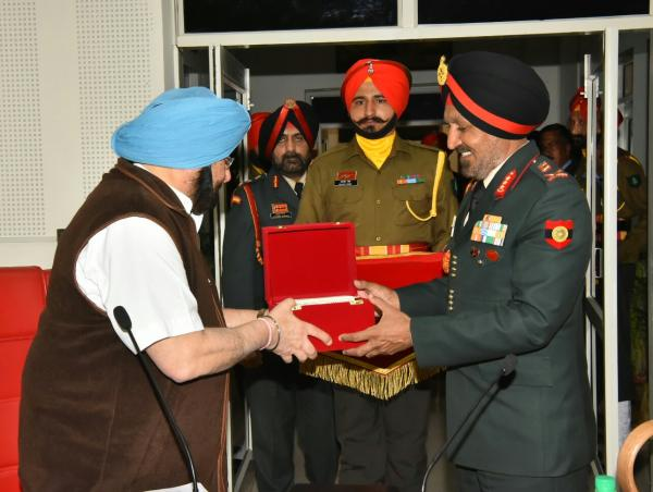 Will set up high level committee to resolve land acqusition issue with armed forces: Amarinder
