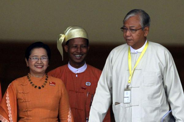 Who is Htin Kyaw, Myanmar's New President?