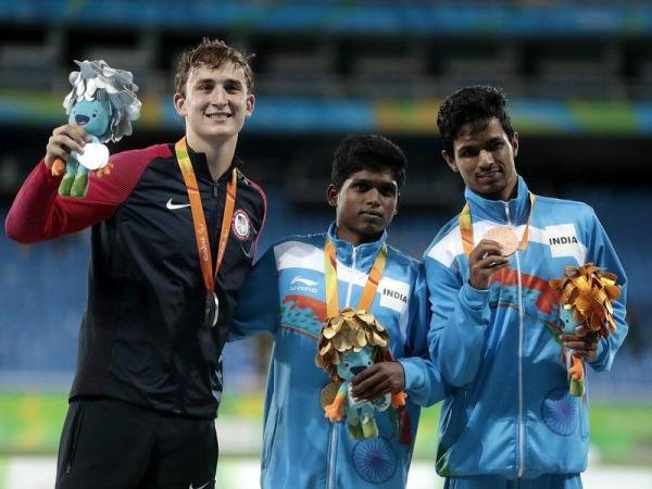 Rio Paralympics: India's Thangavelu wins gold, Bhati bronze in high jump