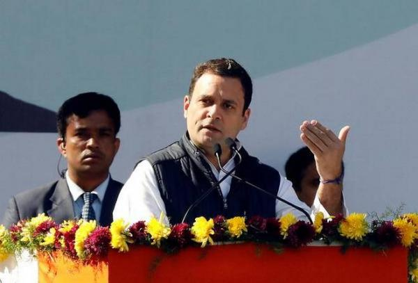 Rahul Gandhi: Good speech in bad English