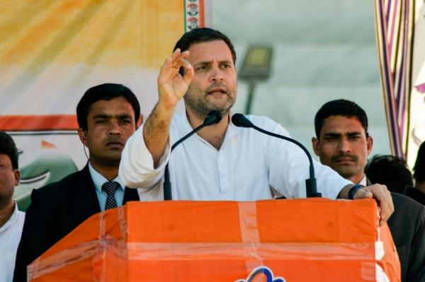 Rahul Gandhi promises special status to Andhra if elected to power in 2019