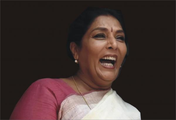 RENUKA'S LAUGHTER: Thank you for your guffaws. We needed this non-violent weapon.