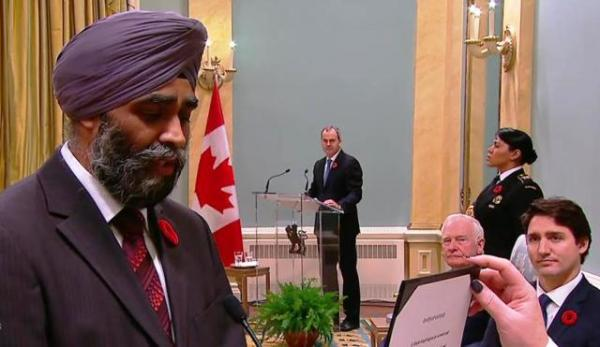 Clarify your stand on Khalistan: Congress to Canadian Defence Minister