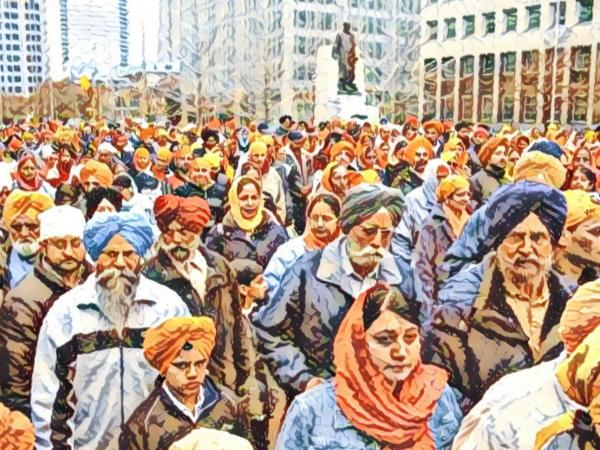 I want to say thank you to the Sikh community