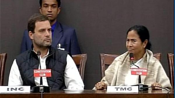 Rahul, Mamata call for Modi's resignation 'if note ban situation doesn't improve after 50 days'