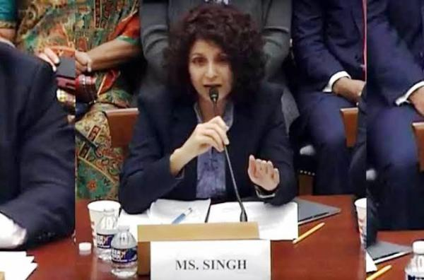 Aarti Tikoo Singh's speech before the US Congress