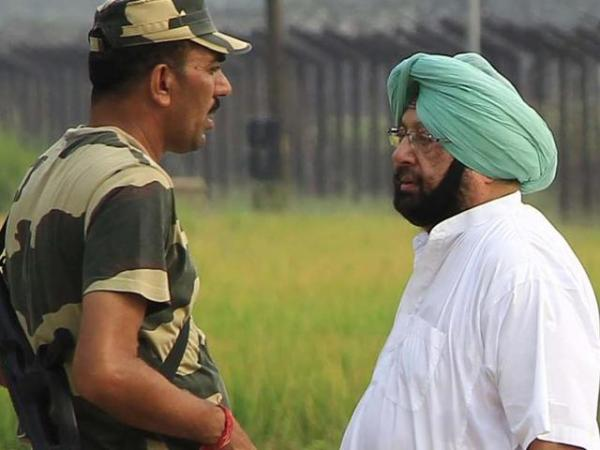 Amarinder blasts Centre for politicising Indian Army