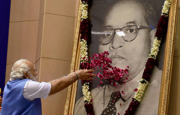 BR Ambedkar is India's Martin Luther King Jr; Modi says reservation for Dalits will stay