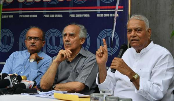Yashwant Sinha, Arun Shourie move SC, say Rafale verdict relies on centre's 'Incorrect' claims