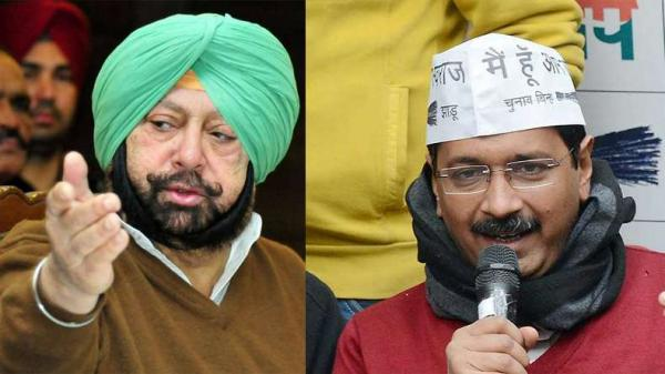 How many election promises have you kept in Delhi; Amarinder questions Kejriwal