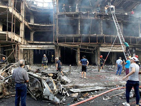 126 killed in two Baghdad bombings, ISIS claims responsibility