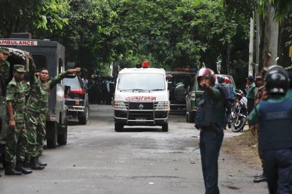 Bomb blast near Eid congregation in Bangladesh; A policeman killed