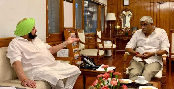 Amarinder suggests all-party meeting under PM to tackle water crisis