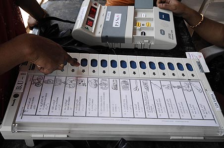 Allegations of EVM tampering 'wild and baseless': Election Commission