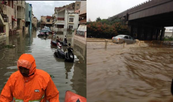 Bengaluru rains: Heavy downpour causes water logging, boats used, People Seen Fishing