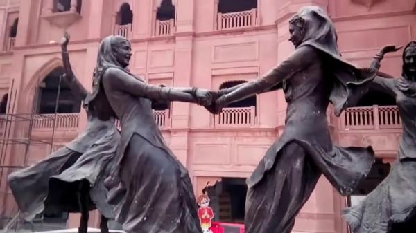 Amarinder orders shifting of dancers' statues from Amritsar Heritage Street