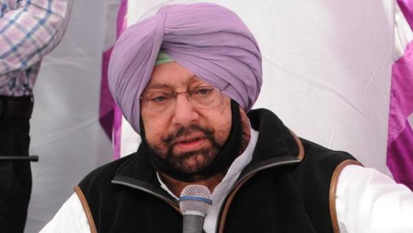 Capt. Amarinder writes to Rajnath seeking immediate dismissal of Badal govt