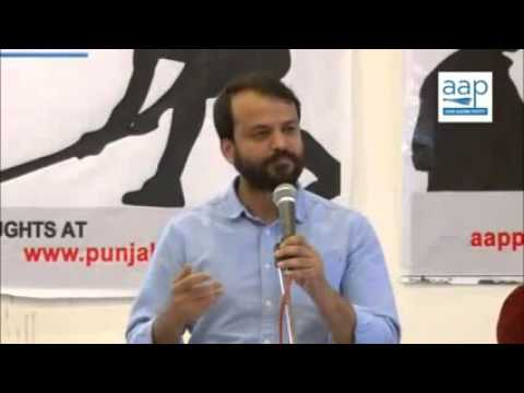 AAP's Ashish Khetan booked for hurting religious sentiments