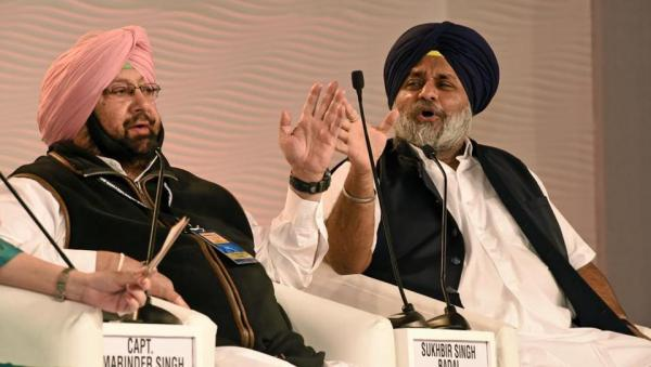 Take quick permission before nominations end: Sukhbir Badal to Amarinder