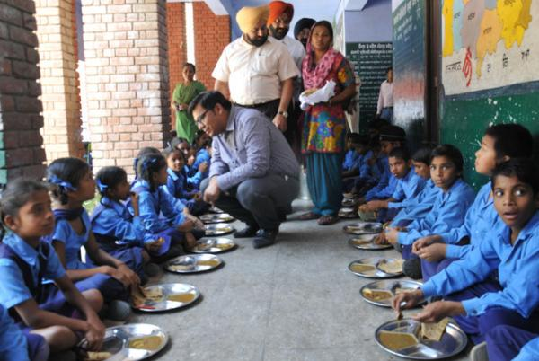 Education minister launches mobile app for maintaining mid day meal record
