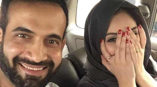Irfan Pathan trolled for posting 'un-Islamic' selfie with wife