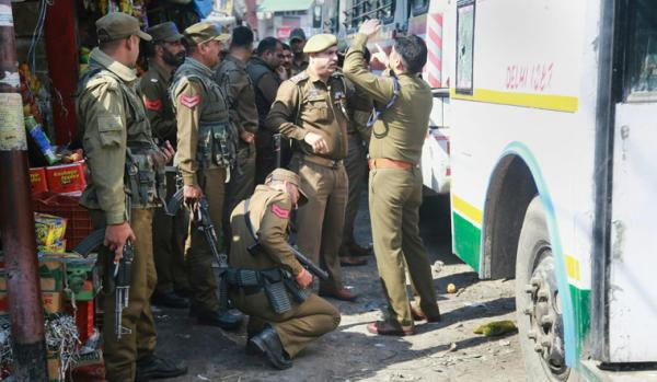 Punjab CM condemns grenade attack on bus at Jammu