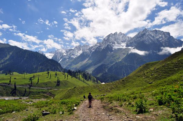 Kashmir, the long walk home