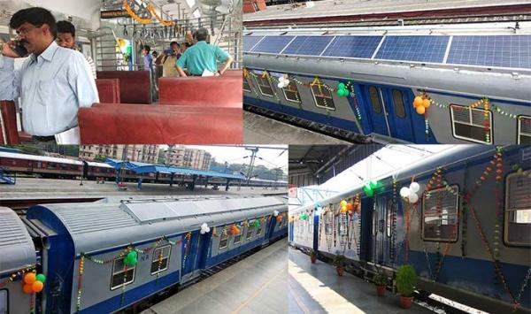 Railways launches first solar-powered train; will help Indian Railways save crores