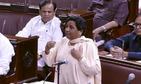 Angry at 'not being allowed to speak', Mayawati says she will quit Rajya Sabha
