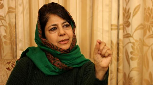 Will Mehbooba say 'Bharat Mata ki Jai'? asks AAP leader