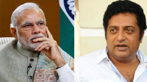 Case registered against Prakash Raj for criticising PM Modi